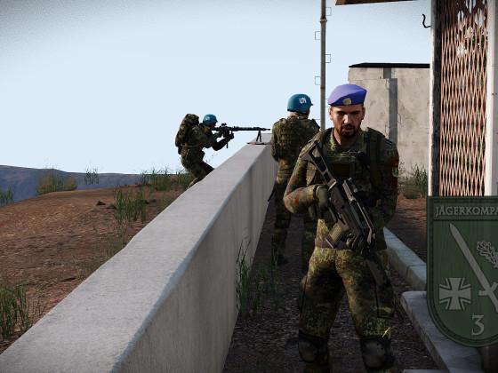 UN-Kräfte auf Tanoa